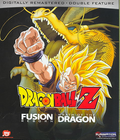 DRAGON BALL Z:FUSION REBORN/WRATH OF BY DRAGON BALL Z (Blu-Ray)